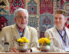 Shaikh Fadhlallah Haeri, founder of ASK and Neil Douglas-Klotz