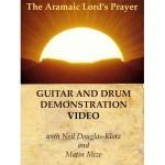 Aramaic Lord's Prayer: Guitar and Drum Demo Video